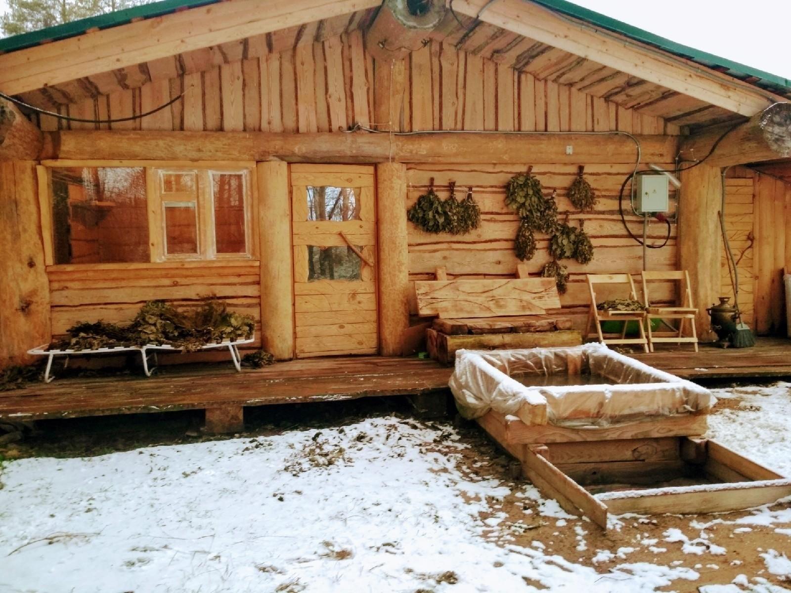 Ленивец, баня на дровах - №14