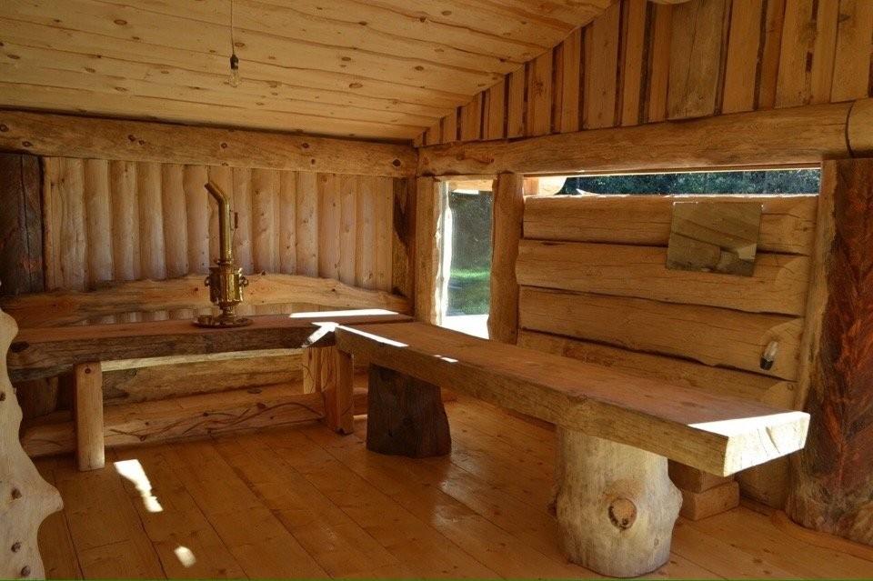 Ленивец, баня на дровах - №21